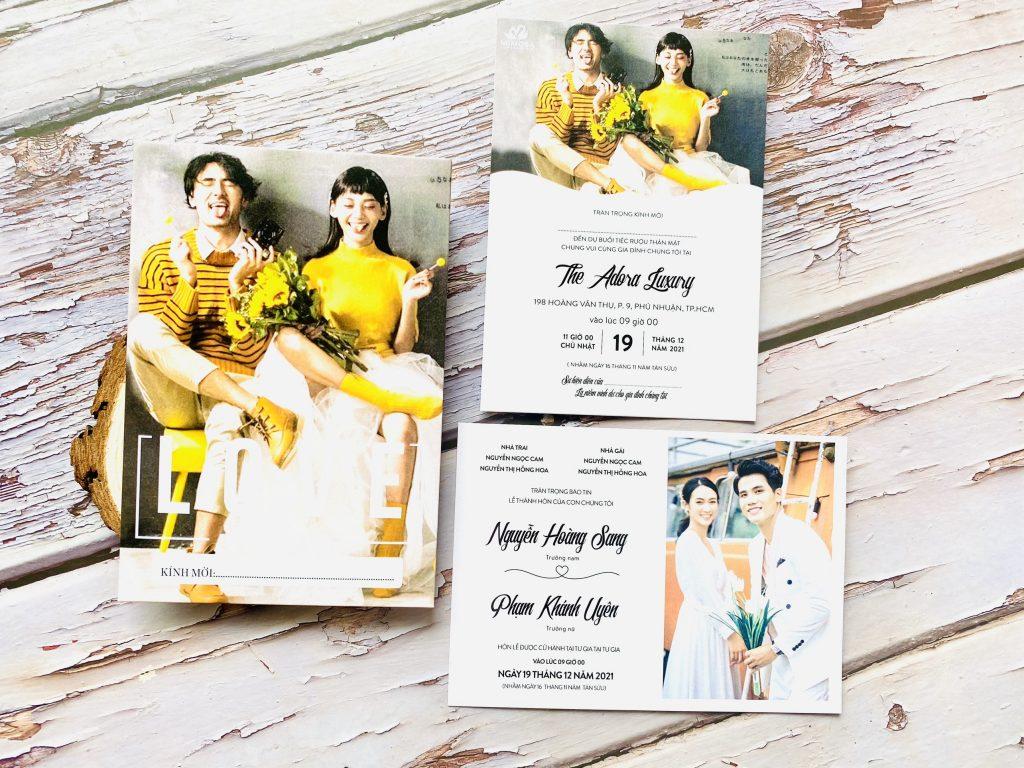 Thiệp cưới Quảng Ngãi